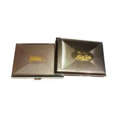 Метална луксозна табакера с запалка Arabic 84мм