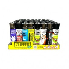 Запалка Clipper пластмасова