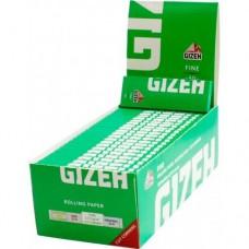 Хартийки за цигари Gizeh Green Fine Cut Corners 70 mm кутия
