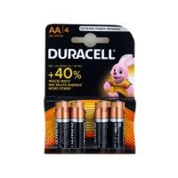 Батерии Duracell алкални LR06/AA,1.5V, 4 броя