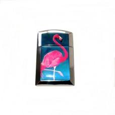 Запалка метална с валек Art design Фламинги