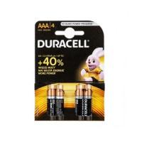 Батерии Duracell алкални LR03/AAA,1.5V, 4броя
