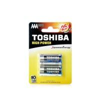 Батерии Toshiba алкални LR03/AAA,1.5V, 4 броя