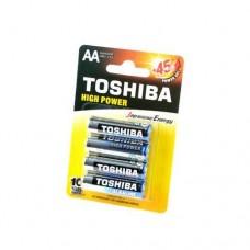 Батерии Toshiba алкални LR06/AA,1.5V, 4 броя