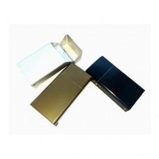 Алуминиев калъф с запалка за цигари 100 мм