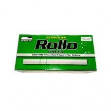 Rollo Green 100 mm KS long filter MENTHOL